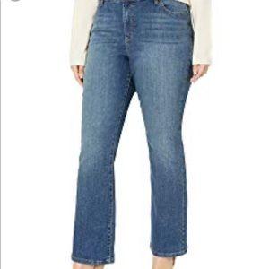 Bandoline mid wash Mandingo straight leg jeans 18w